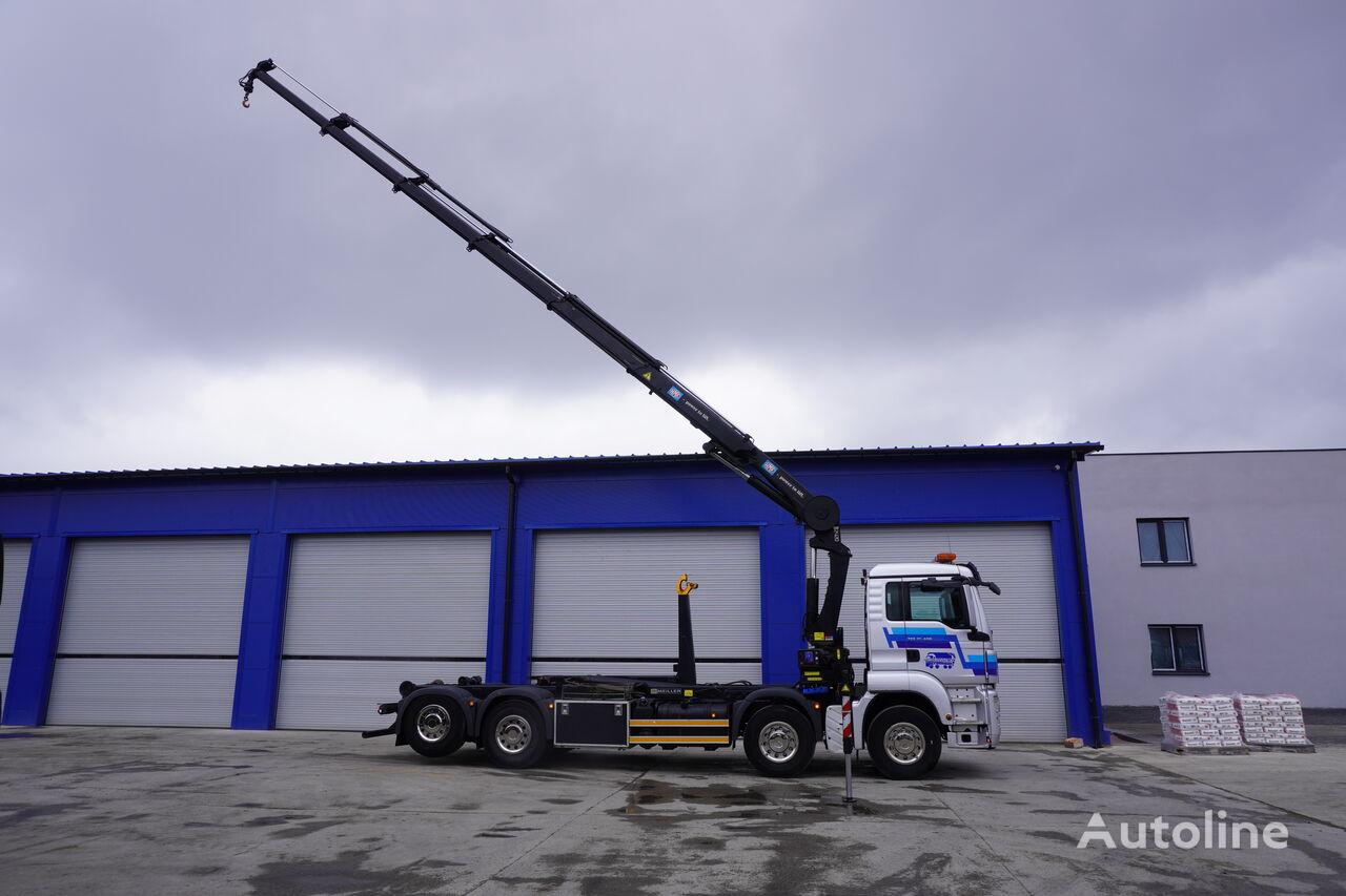 ciężarówka hakowiec MAN TGS 35.400